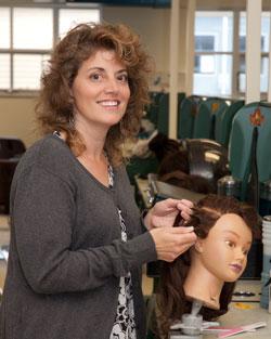 Ms. Adams, Cosmetology instructor
