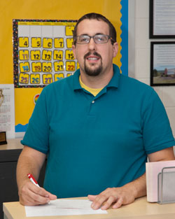 Mr. Evans, Service Occupations Education instructor