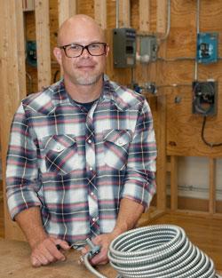 Mr. Heffner, Electrical Technology instructor