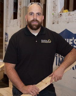 Mr. Holtzman, Building and Property Maintenance instructor