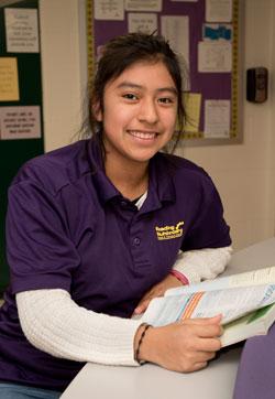 smiling ITA student