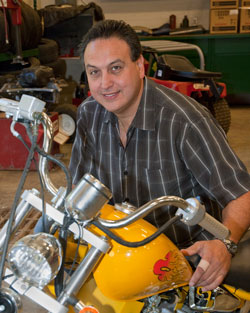 Mr. Miller, Motorcycle, Marine, and Small Engine Technology instructor