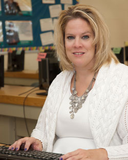 Ms. Pison, IT-Web Design instructor