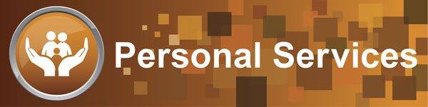 Personal Services Cluster banner graphic