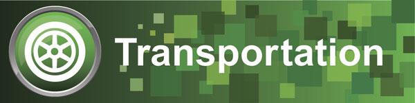 Transportation Cluster banner graphic