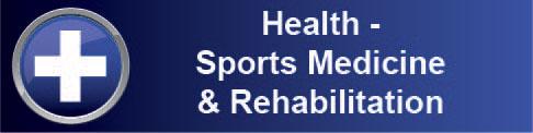 Health Sports Medicine & Rehabilitation Banner Graphic