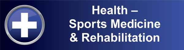 Health Sports Medicine banner graphic