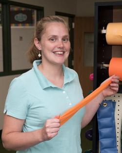 Ms. Romberger, Health-Sports Medicine and Rehabilitation teacher
