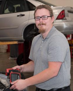 Mr. Yankowski, Automotive Technology teacher